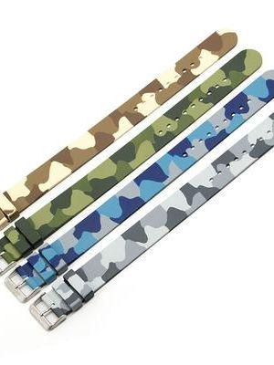 Marathon Rubber Camouflage Strap